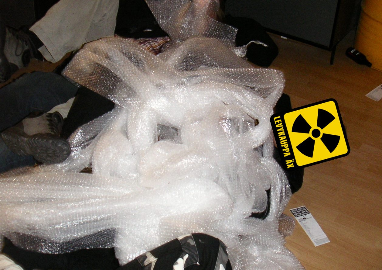 An image of Äx owner in bubble-wrap